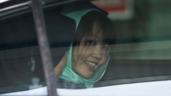 Đoàn Thị Hương 'vô cùng hạnh phúc' sau khi tòa tuyên án