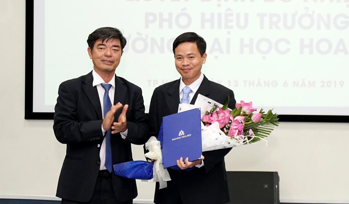 PGS.TS Nguyễn Ngọc Vũ làm phó hiệu trưởng Trường ĐH Hoa Sen