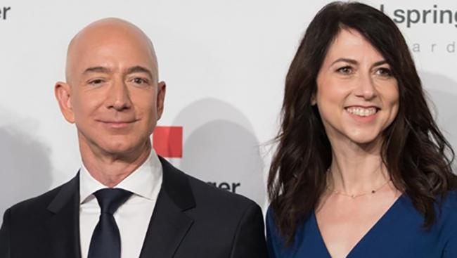 Nhà sáng lập Amazon và vợ chia tay nhau sau 25 năm chung sống