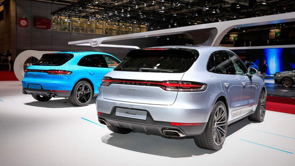 Porsche Macan 2019 ra mắt với nhiều cải tiến mới