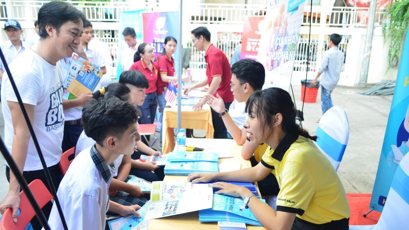Hơn 5.000 học sinh TP HCM được hướng nghiệp