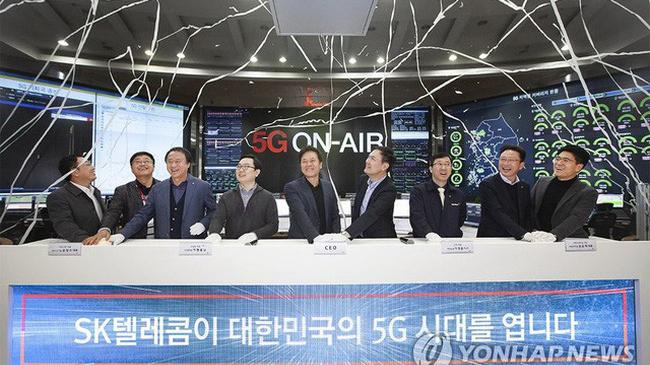 Vượt qua Mỹ và Trung Quốc, Hàn Quốc trở thành nước đầu tiên cung cấp dịch vụ 5G