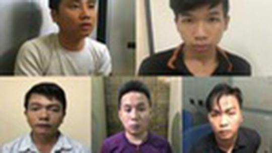 5 đối tượng bị tạm giữ hình sự trong đường dây đưa gái vào quán cà phê kích dục