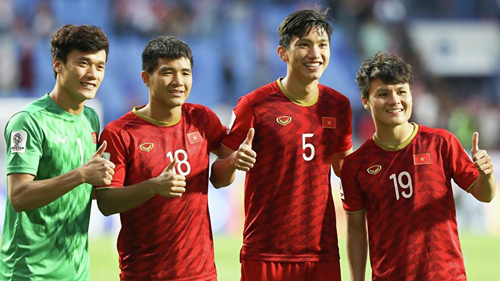 Quang Hải, Văn hậu, Đình Trọng, Tiến Dũng được HLV Park Hang-seo đưa vào danh sách U23
