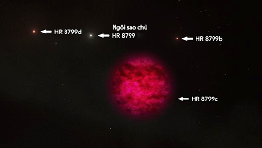 Có nước trong bầu khí quyển của một hành tinh cách Trái Đất 179 năm ánh sáng