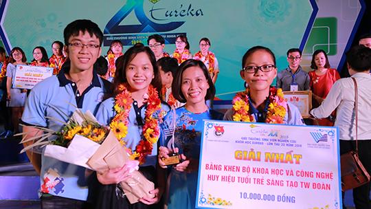 Trường ĐH Công nghiệp Thực phẩm TPHCM chiến thắng vang dội tại Giải thưởng Eureka 2018