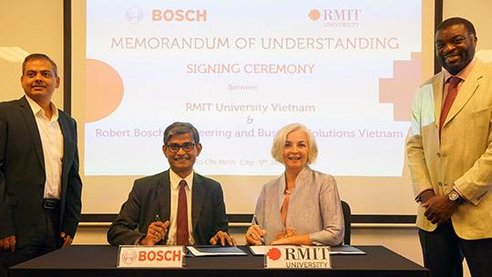 Hợp tác nâng cao trải nghiệm cho sinh viên RMIT Việt Nam