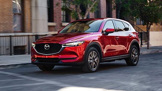 Mazda CX-5 là dòng xe chủ lực của hãng ôtô Nhật Bản trên đất Mỹ