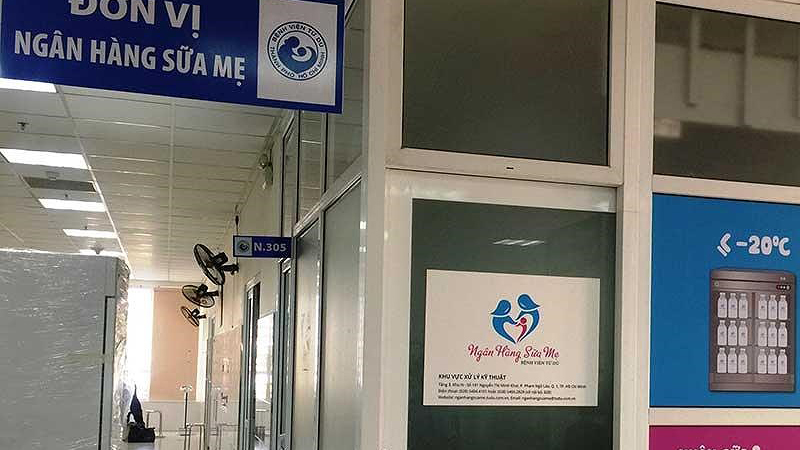 Ngân hàng sữa mẹ đầu tiên ở phía Nam hoạt động từ ngày 10/4 tại Bệnh viện Từ Dũ