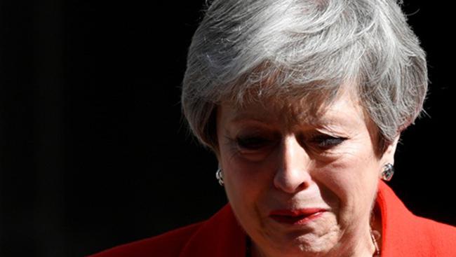 Thủ tướng Anh Theresa May từ chức