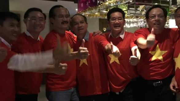 Bầu Đức ở đâu khi Việt Nam vô địch AFF Cup?