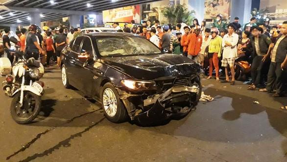 Nữ 'quái xế' lái BMW khai buồn ngủ sau khi uống say