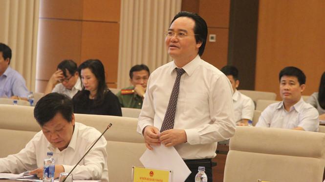 Bộ trưởng Phùng Xuân Nhạ: Từ năm tới, thi THPT quốc gia sẽ không phục vụ mục tiêu 2 trong 1
