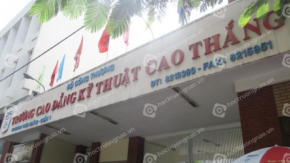 Trường CĐ Cao Thắng công bố điểm trúng tuyển từ kỳ thi đánh giá năng lực