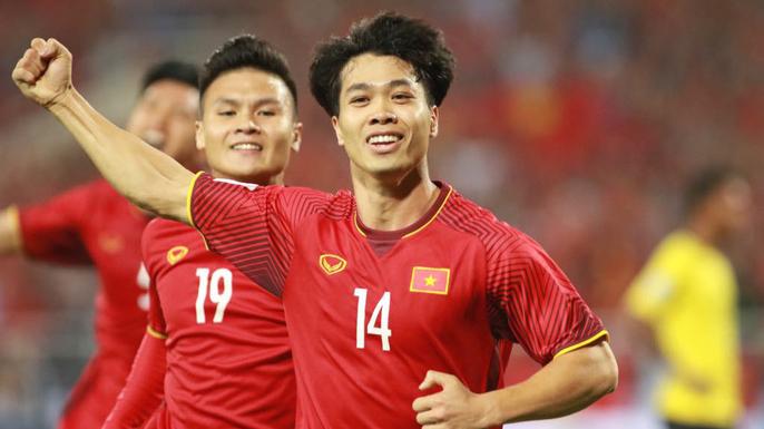 Đội tuyển Việt Nam thắng thuyết phục trước Malaysia