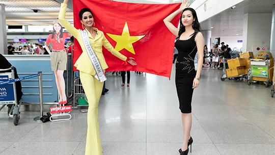 H'Hen Niê chính thức lên đường đến với Miss Universe 2018