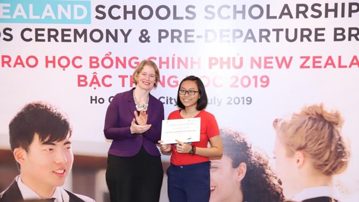 20 học sinh nhận Học bổng chính phủ New Zealand