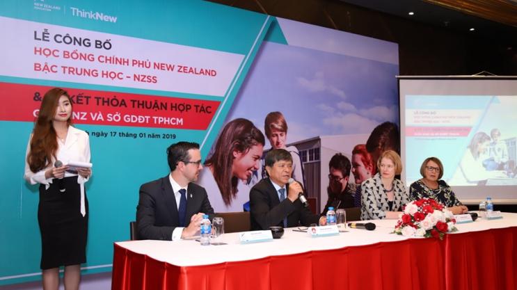 New Zealand cấp học bổng Chính phủ bậc trung học đầu tiên dành riêng cho học sinh Việt Nam