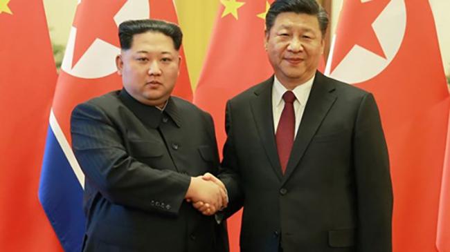 Chủ tịch Triều Tiên Kim Jong-un thăm Trung Quốc
