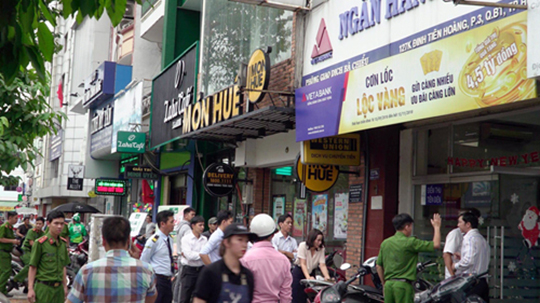 Ngân hàng Việt Á bị cướp