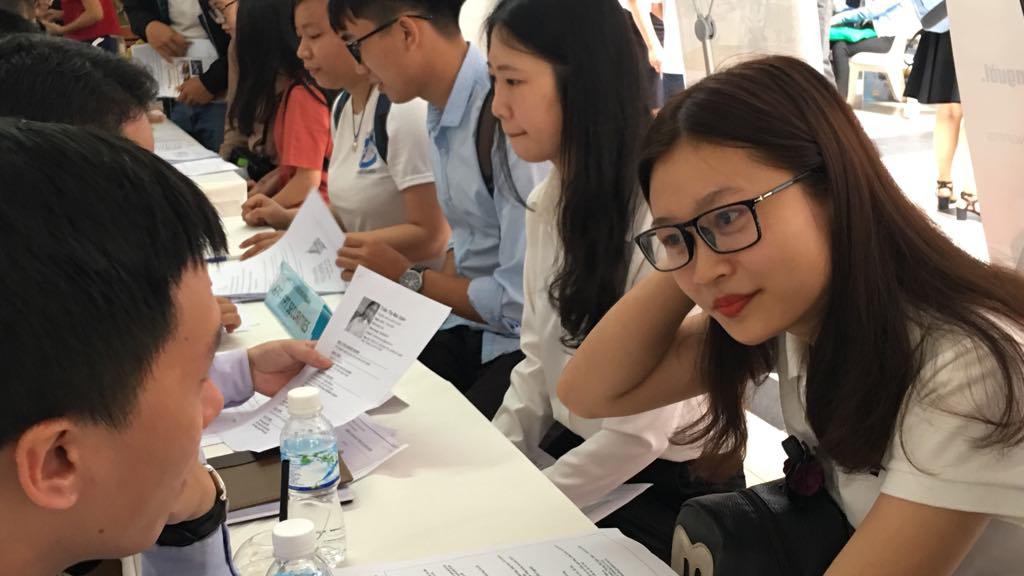 55 doanh nghiệp tham gia ngày hội nghề nghiệp