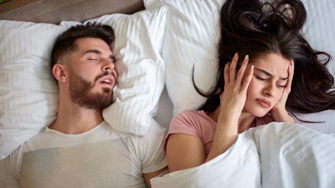 Ngủ ngáy và cách xử lý