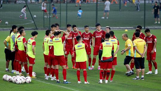 HLV Park hang-seo sử dụng đội hình nào trong trận gặp Malaysia vào chiều nay?