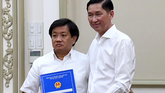 Vừa nhận quyết định bổ nhiệm, ông Đoàn Ngọc Hải liền từ chức Phó tổng giám đốc  Tổng Công ty Xây dựng Sài Gòn