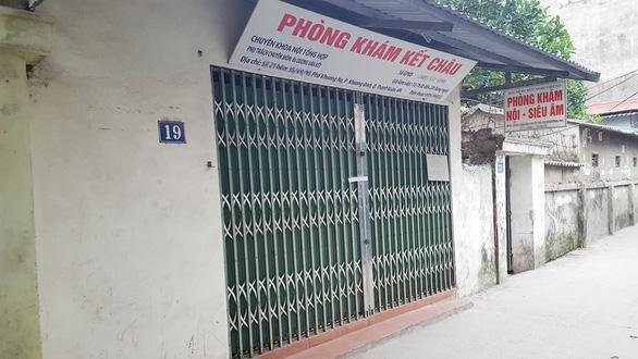 Vụ tử vong khi truyền đạm tại phòng khám tư: Đình chỉ phòng khám Kết Châu