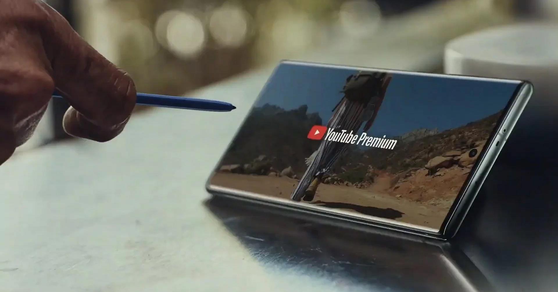 Hàng loạt công nghệ mới ấn tượng trên SAMSUNG Galaxy Note 10