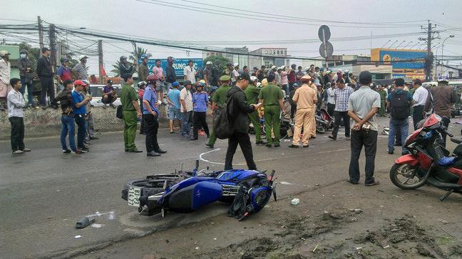 Khởi tố vụ án, tạm giữ hình sự tài xế container gây tai nạn thảm khốc ở Long An