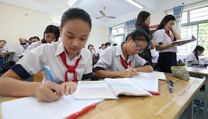Sở GD-ĐT TP HCM công bố chỉ tiêu tuyển sinh lớp 10 trường THPT công lập