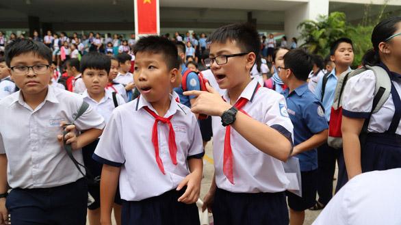 TP HCM công bố điểm chuẩn lớp 6 Trần Đại Nghĩa