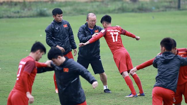 HLV Park Hang-seo chốt danh sách 23 cầu thủ tham dự vòng loại U23 châu Á