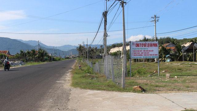 'Hoả tốc' dừng chuyển quyền sử dụng đất tại Bắc Vân Phong
