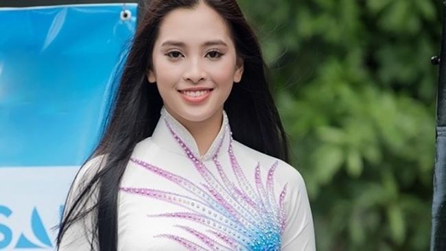 Trần Tiểu Vy- cô sinh viên trường kỹ thuật vào Chung kết Hoa hậu Việt Nam 2018