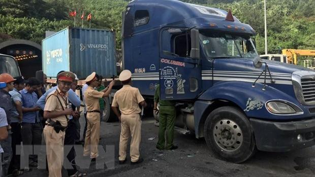 Bắt tài xế ngáo đá gây tai nạn liên hoàn trong hầm Hải Vân