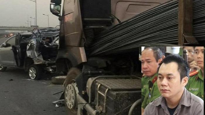 Xem xét lại vụ án container đâm xe Innova chạy lùi trên cao tốc Thái nguyên